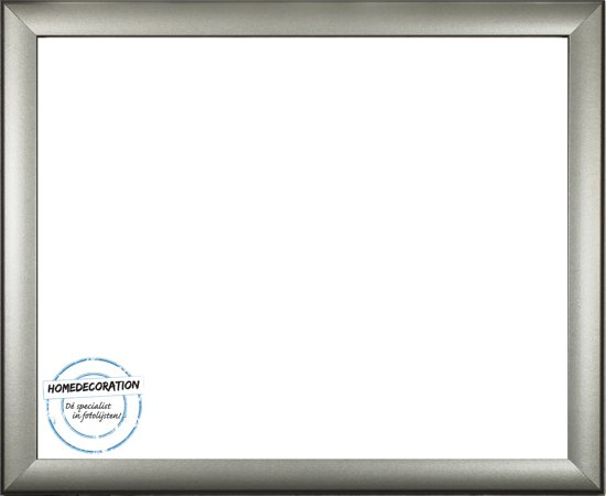 Homedecoration Colorado – Fotolijst – Fotomaat – 33 x 39 cm – Zilver mat