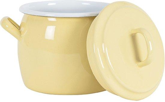Kookpan met deksel Geel, 0,7 L -Kockums