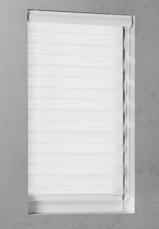 Pure Living - Duo Rolgordijn Lichtdoorlatend - 140x175 cm - Gebroken Wit