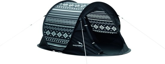 Easy Camp Antic Tribal Black & White Tent