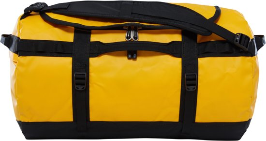 The North Face Base Camp Duffel Reistas S - 50 L - Summit Gold / TNF Black - vernieuwd model