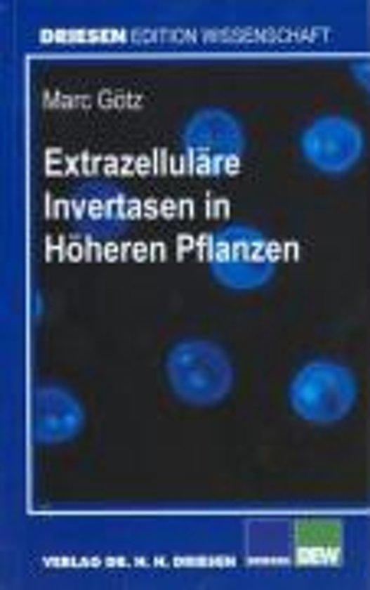Extrazelluläre Invertasen in Höheren Pflanzen