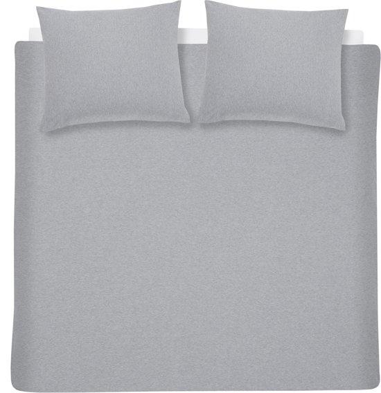 Cinderella Dekbedovertrekset Jersey Melange 200 x 200/220 cm light grey