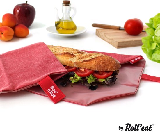 Roll'Eat Boc'n'Roll Foodwrap - Eco Red