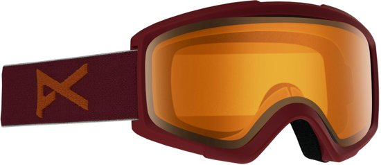 Anon Helix 2.0 goggle maroon / amber