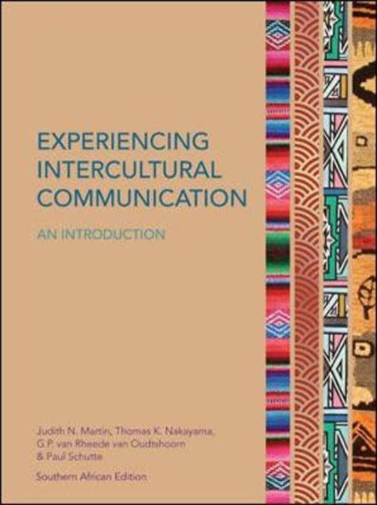 intercultural communication experience