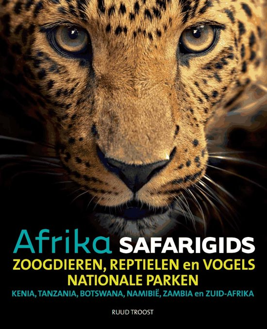 Safarigids Afrika, als u weten wil welk dier er voor uw lens verschijnt!