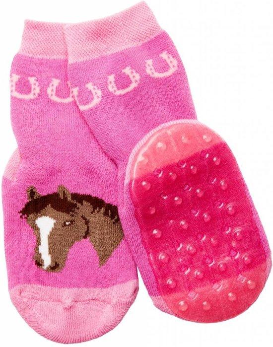 b2214e871c4 bol.com | Ewers anti-slip sokken Stoppi roze paard Maat: 18-19