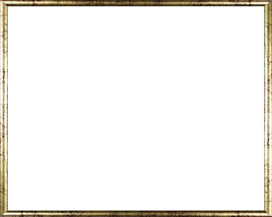 Homedecoration Biggy – Fotolijst – Fotomaat – 23 x 51 cm – Kunststof – Goud Antiek