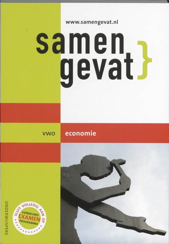 Boek cover Samengevat - VWO -  Economie van J.P.M. Blaas (Paperback)
