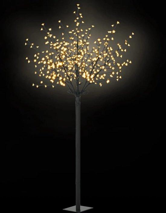 vidaXL LED-bloesemboom voor binnen en buiten IP44 250 cm warm wit