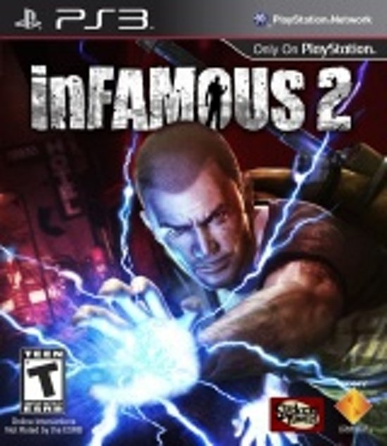 Sony inFAMOUS 2 PlayStation 3 video-game