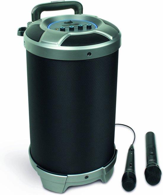 Caliber HPG520BT - Party speaker met bluetooth en accu  - Zwart
