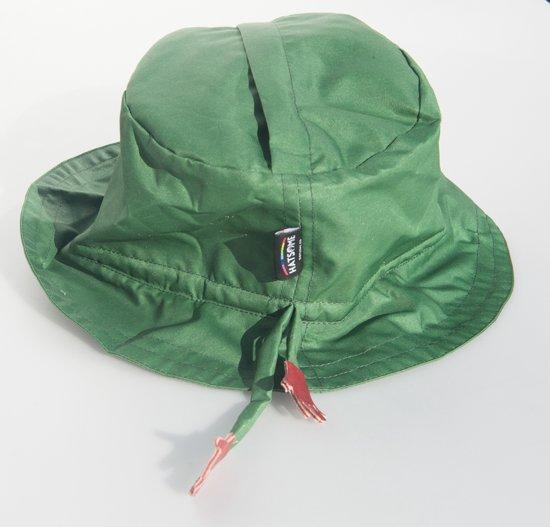 Hatsome regenhoedje groen
