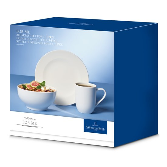 Villeroy & Boch For Me Breakfast Serviesset 3-delig