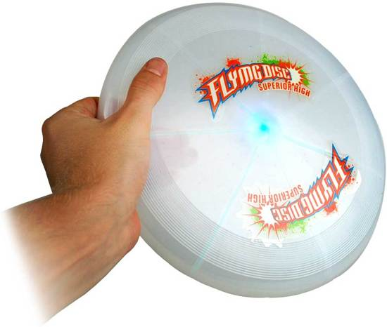 United Entertainment - LED Frisbee - Wit