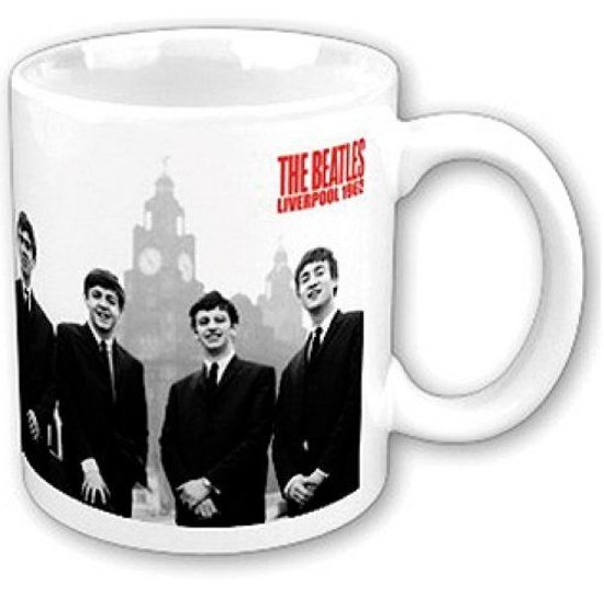 The Beatles - Liver Building - Bedrukte Mok Beker