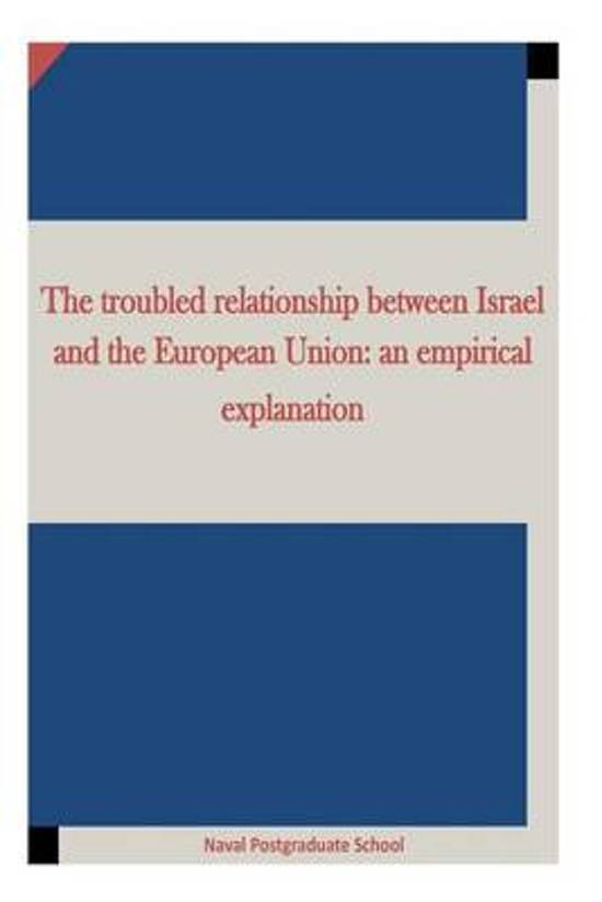 The Troubled Relationship Between Israel and the European Union
