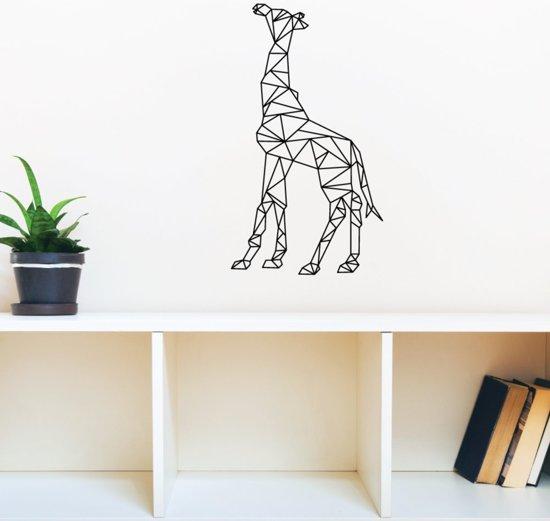 Muursticker Giraffe Kinderkamer.Bol Com Muursticker Giraffe Geometrisch Woonkamer Slaapkamer