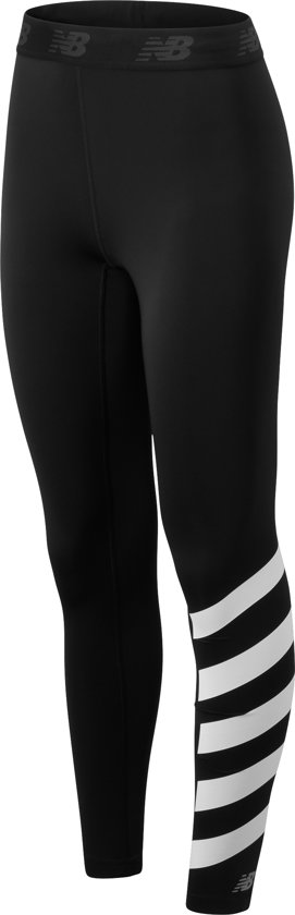 New Balance PRINTED ACCELERATE TIGHT Dames Sportlegging - Black - XL