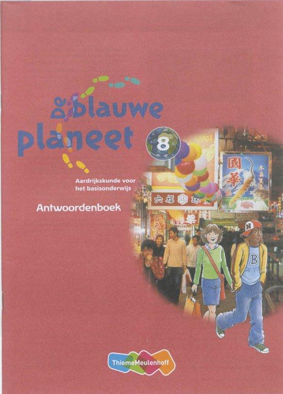 De Blauwe Planeet Groep 8 Antwoordenboek