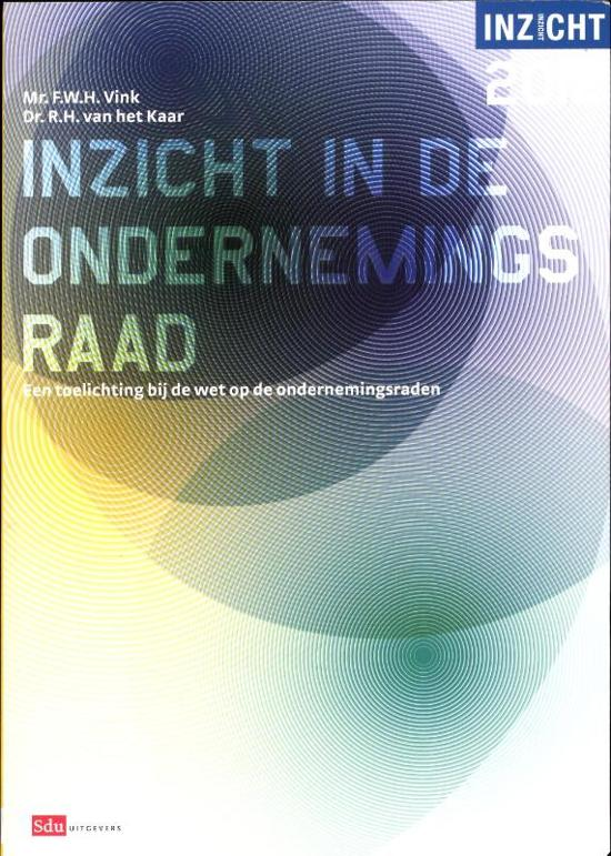2012 Inzicht in de ondernemingsraad