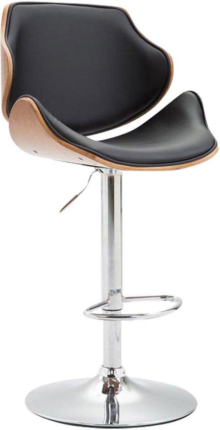 Clp Belem - Barkruk - Kunstleer - Bekleding kleur: zwart