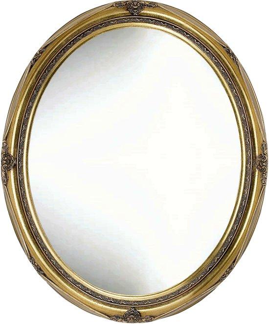 Ovale Barok Spiegel Evan Buitenmaat 40x50cm Goud