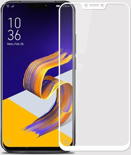 Let op type!! MOFI 9H 2.5D Arc rand getemperd glas Film voor Asus Zenfone 5(2018) / ZE620KL(White)
