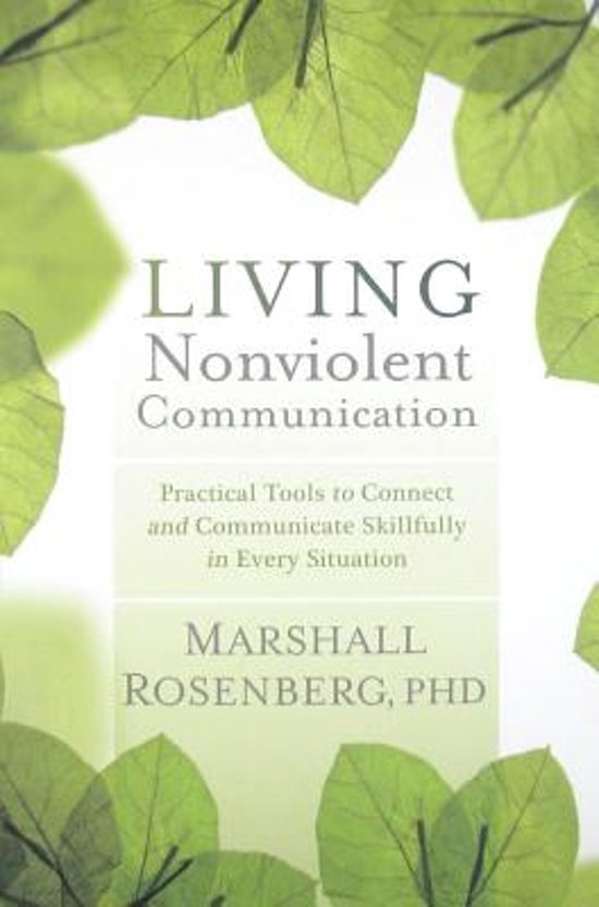 Boek cover Living Nonviolent Communication van Marshall B. Rosenberg (Paperback)