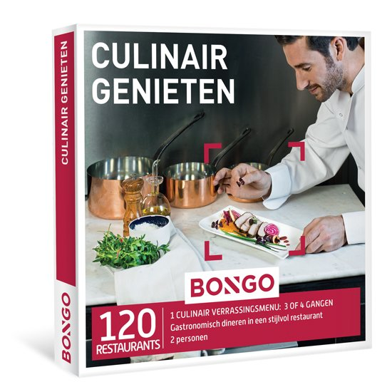 BONGO - Culinair Genieten - Cadeaubon