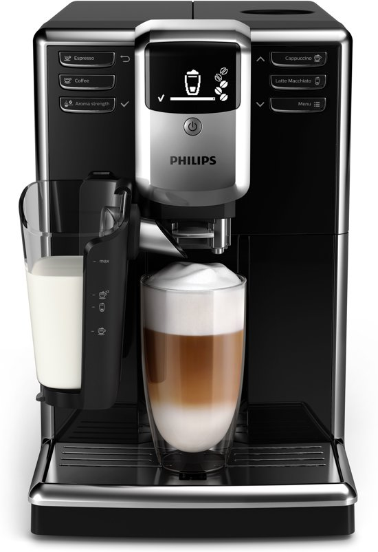 Philips 5000 serie EP5340/10 LatteGo - Espressomachine - Zwart