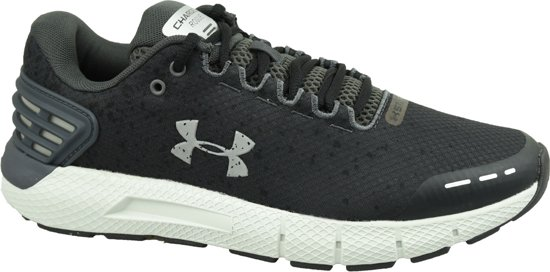Under Armour Charged Rogue Storm Heren Hardloopschoenen - Zwart - Maat 43