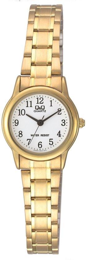Q&Q Horloge  Q589J004Y  Goudkleurig