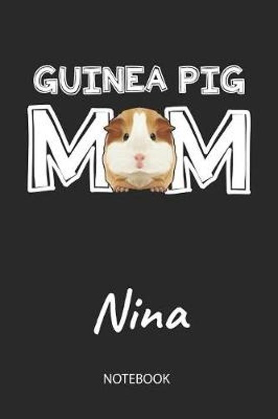 Guinea Pig Mom - Nina - Notebook