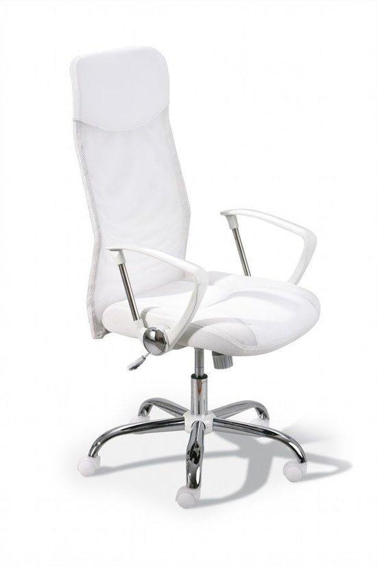 Bureau Stoel Wit.Interlink Bureaustoel Wit Comfort Design