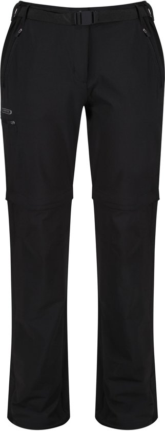 Regatta Xert Z/O  II Outdoorbroek - Dames - Zwart