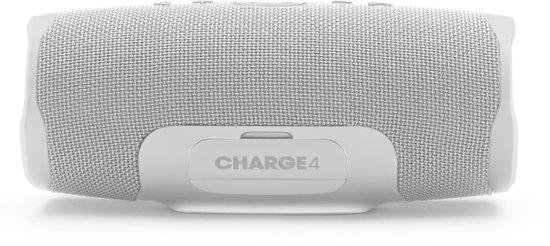 JBL Charge 4 Steel White Bluetooth speaker