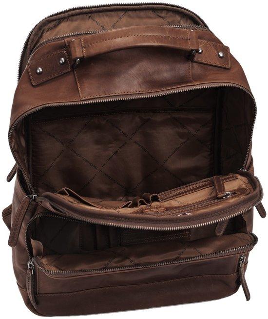 537be021e87 bol.com | Chesterfield Bags Leren Laptop Rugzak Austin bruin