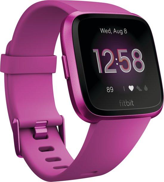Fitbit Versa Lite - Smartwatch - Magenta