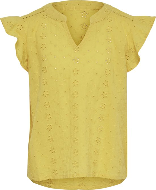 KIDS ONLY Meisjes Shirt - Cloud Dancer - Maat 146/152