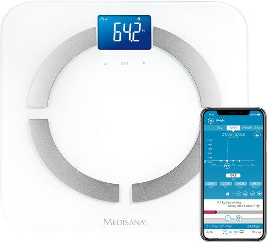 Medisana BS430 Connect - Personenweegschaal - Lichaamsanalyse