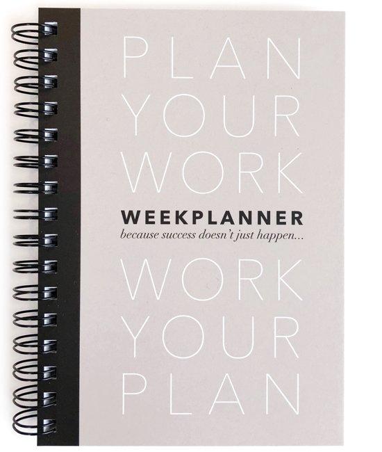 PLANBOEK Plan your Work A5 + KAART