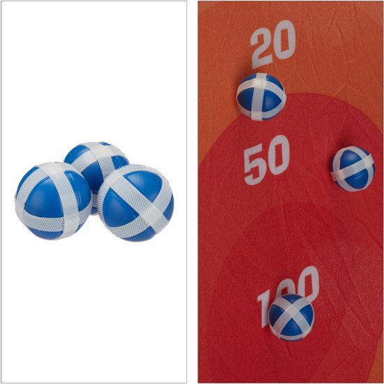 relaxdays 251-delige ballenbak set - pop-up-systeem tent - 250 ballen - vanaf 3 jaar