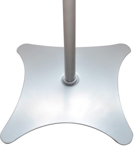 vidaXL Universele speakerstandaard 2 stuks (zilver)