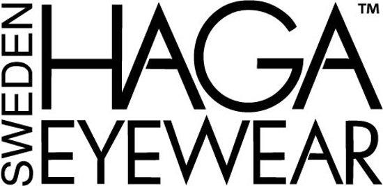 HAGA Eyewear zonnebril kind zwart met band – 0-4 jaar