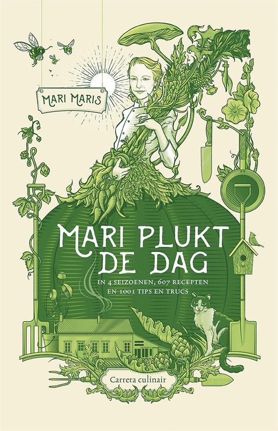 Boek cover Mari plukt de dag van Mari Maris (Onbekend)