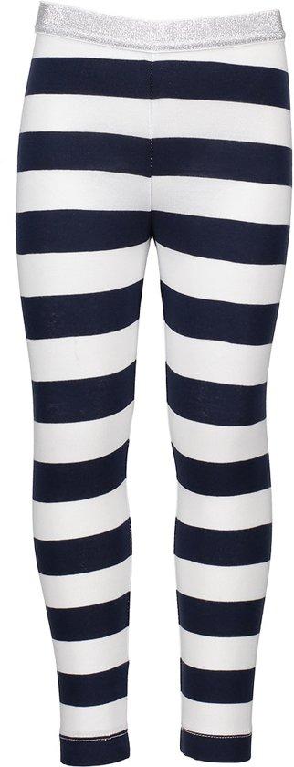 Bampidano Meisjes Legging - stripe navy - Maat 92