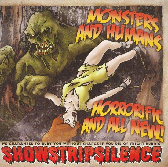 Monsters and Humans: Horrorific and All New!