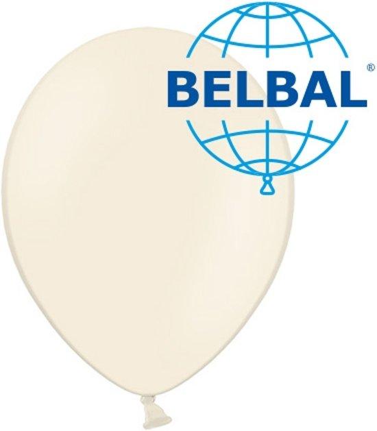 Ballonnen vanilla B95 30 cm 50 stuks